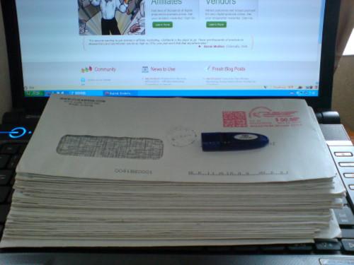 刀刀都在这些信封里
