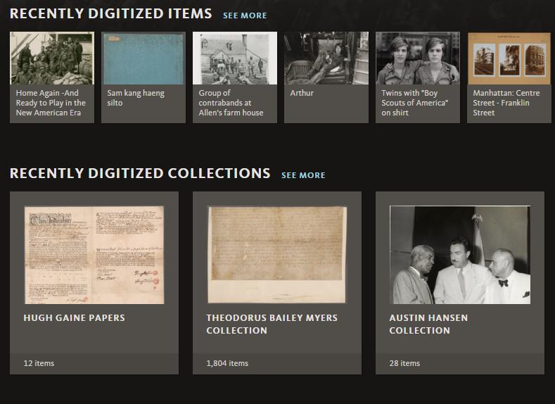 纽约公共图书馆上传200,000张图片免费自由使用